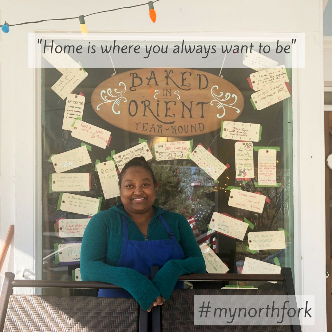 """#mynorthfork 1/19/2018 - """"After living in Mexico for six years I moved to Istanbul for nine years. While I was away I missed the sounds and smells associated with the North Fork. Now that I'm back in my hometown, just driving across the causeway makes me giddy. The calm community and friendly faces is the highlight of the area. Home is where you always want to be and home to me is East Marion where I grew up."""""""