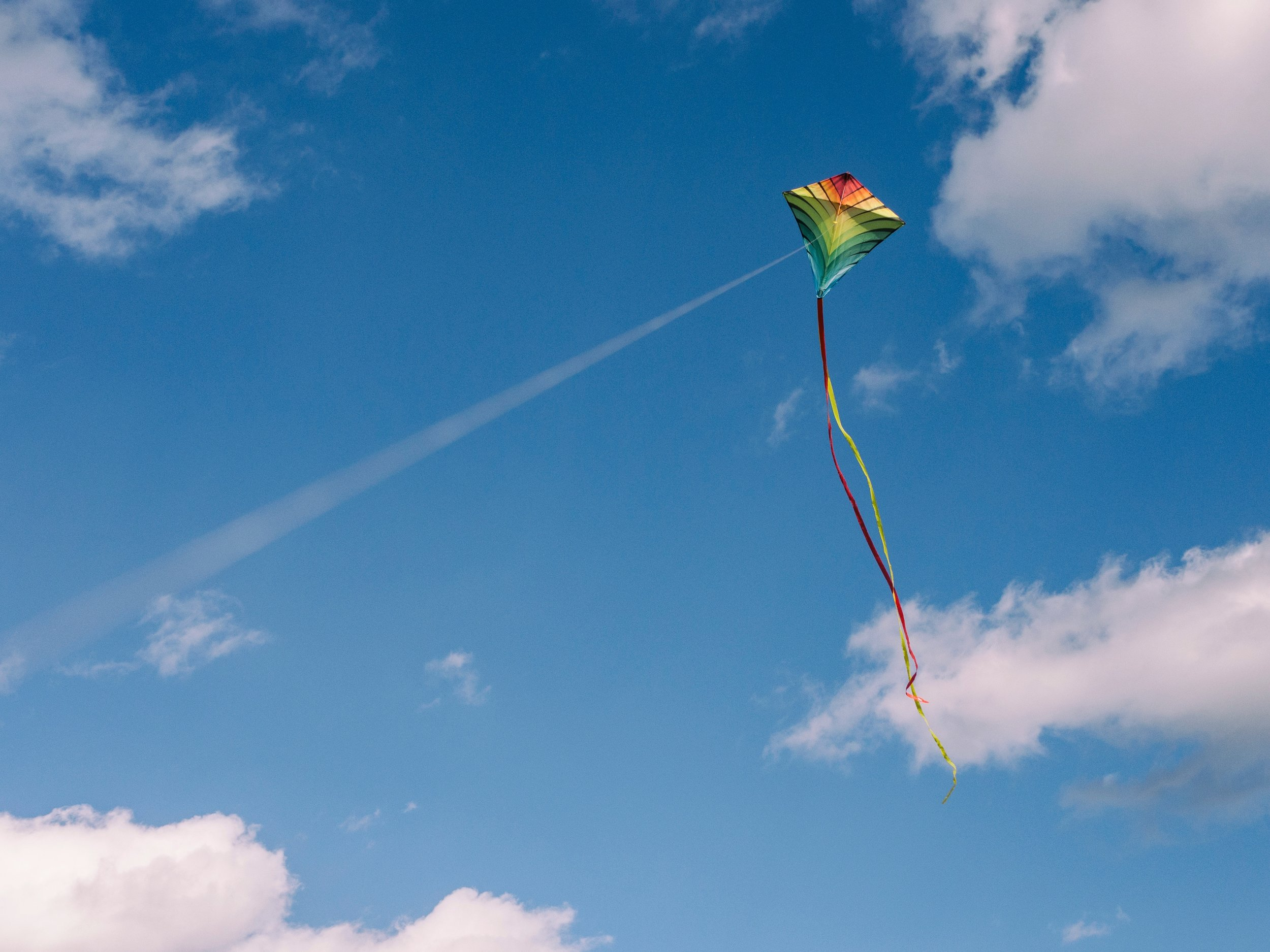 Kite flying in Sri Lanka