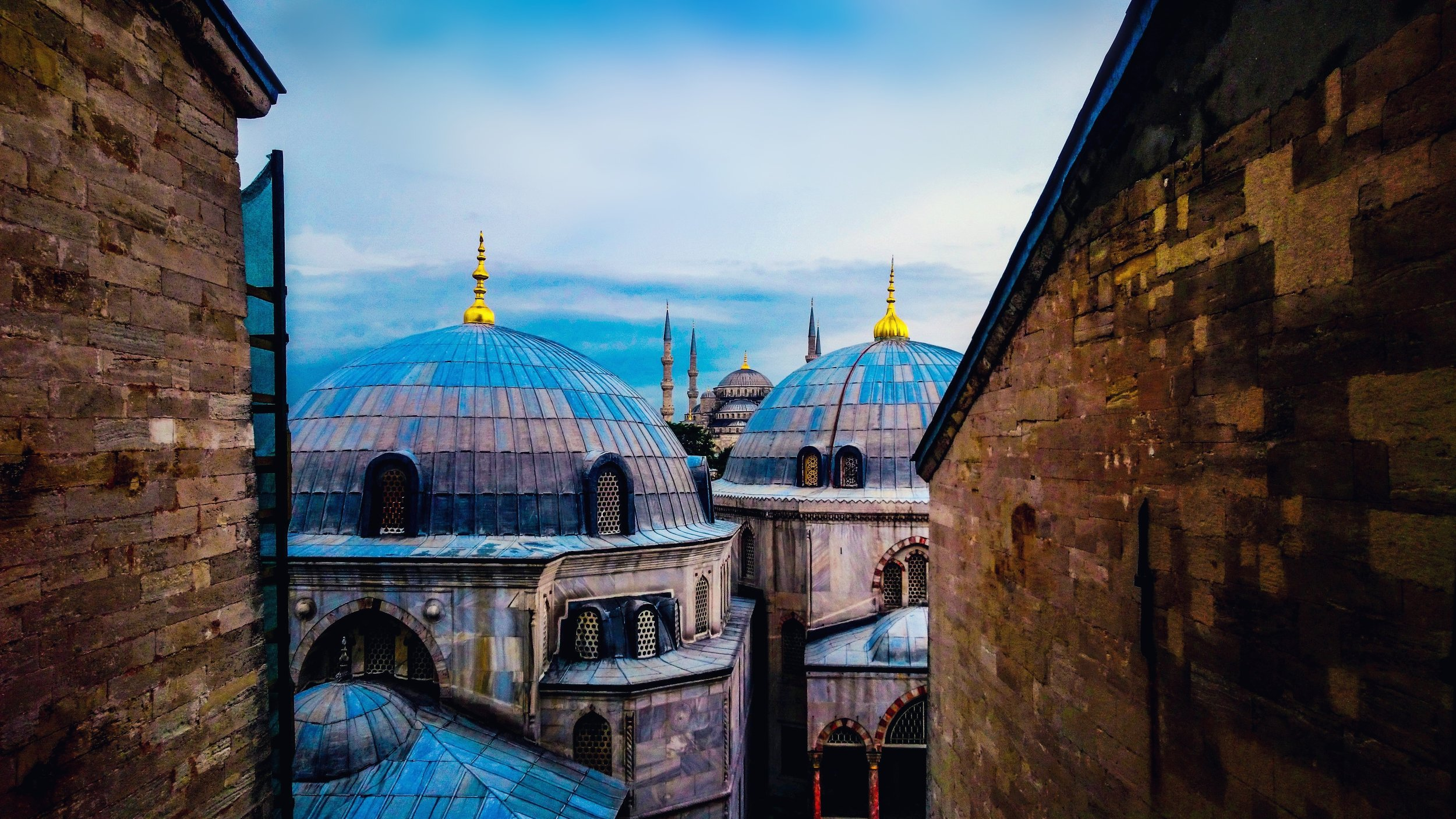 View to the Suleymaniye Mosque, Istanbul
