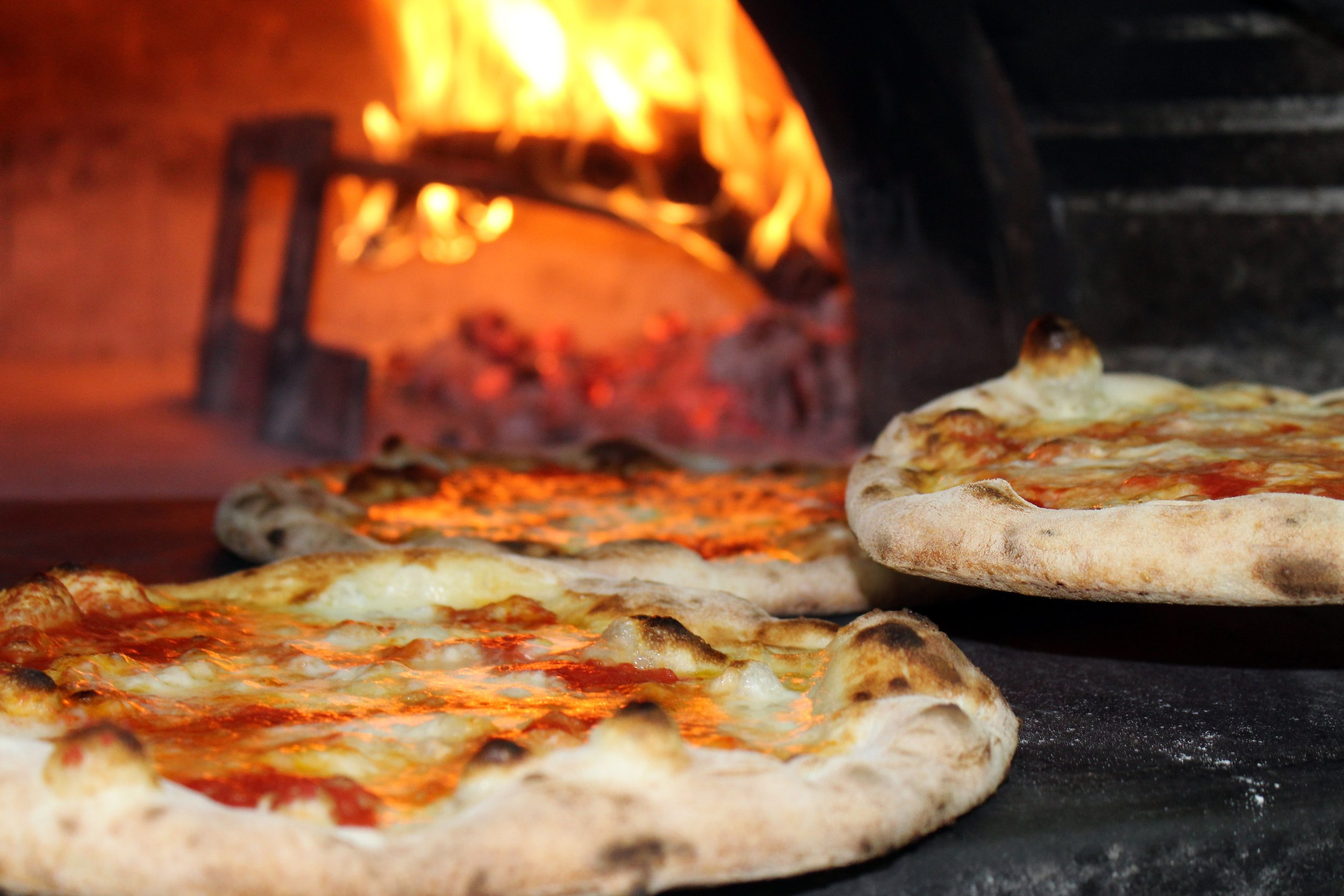 Pizza is one of New York's speciality foods (particularly in Little Italy)