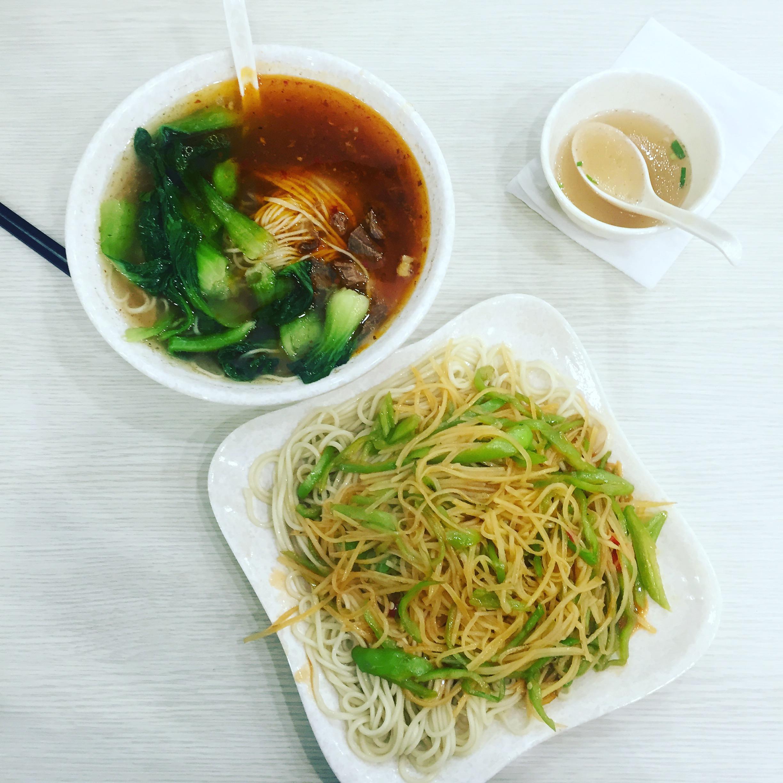 Noodles in Shanghai