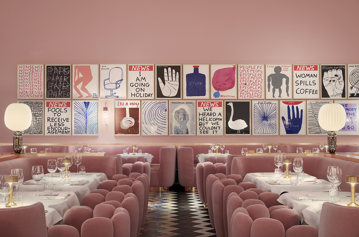 The Gallery Restaurant, Sketch, London. Image credit Sketch, London