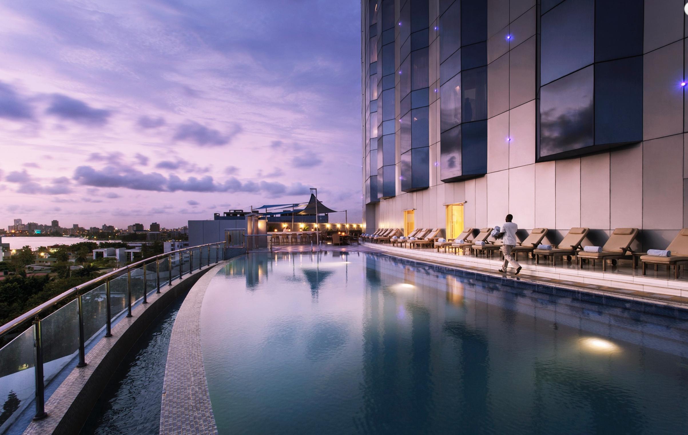 The Lagos Continental Hotel in Lagos, Nigeria