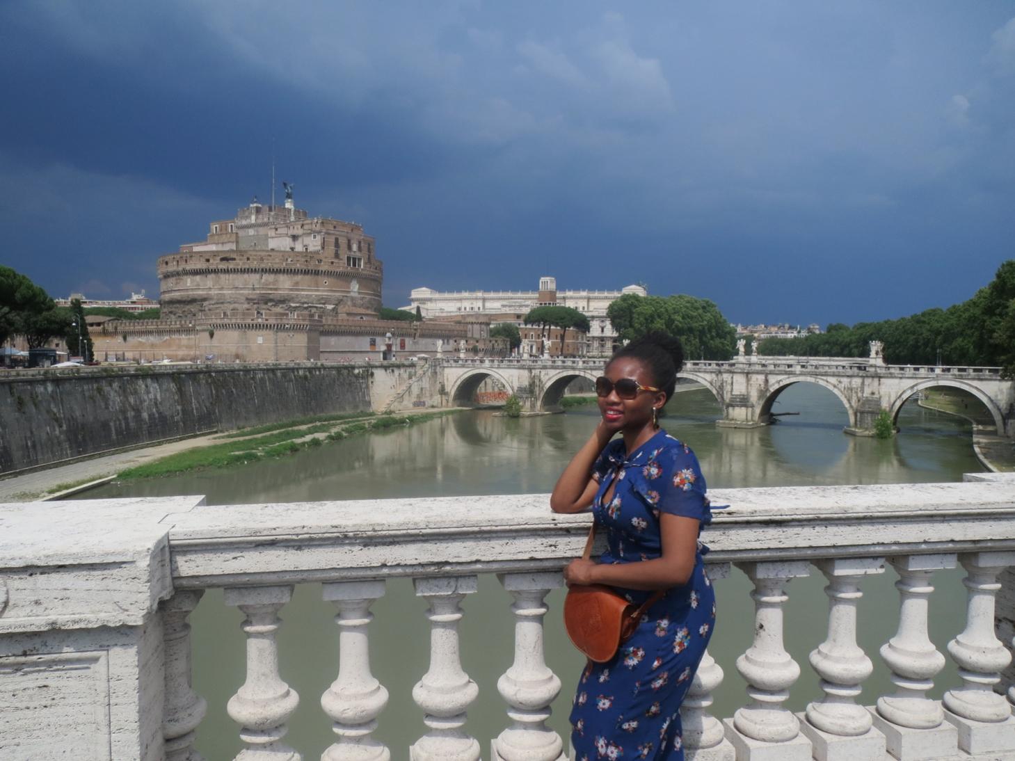 Ogo Okafor in Rome, Italy