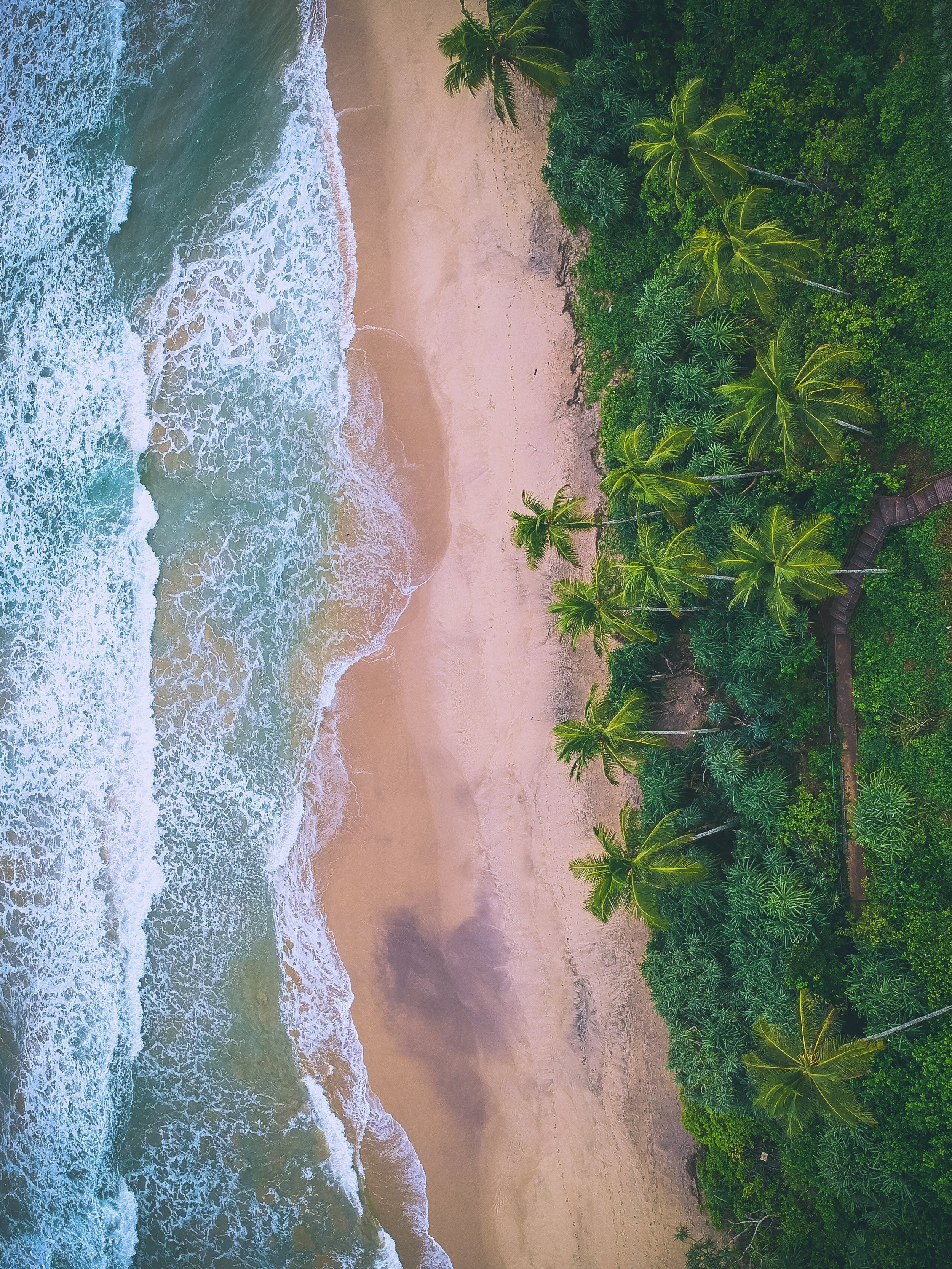 One of the beaches in the 'Deep South' of Sri Lanka.