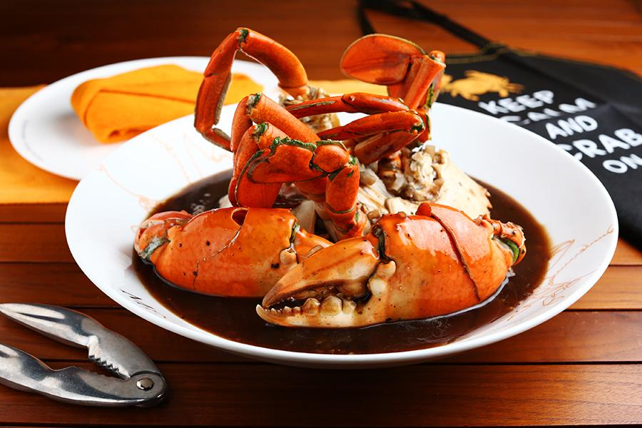 Crab dish at Ministry of Crab. Image credit: Ministry of Crab