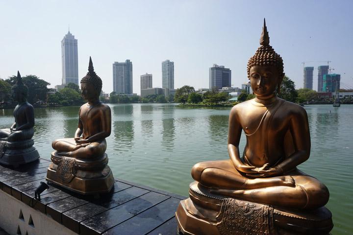 Seema Malakaya meditation Center, Colombo, Sri Lanka