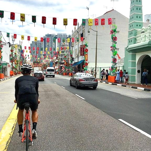 """- Ben Crouch, Singapore local - """"Road cycling. Early mornings on the Singapore roads before the traffic hits are unbeatable""""."""