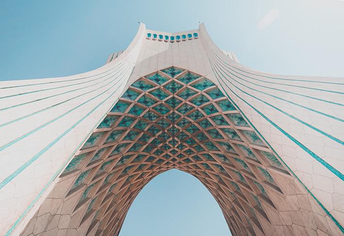 Azidi Tower in Tehran, Iran. Photo Credit: Mahdiar Mahmoodi