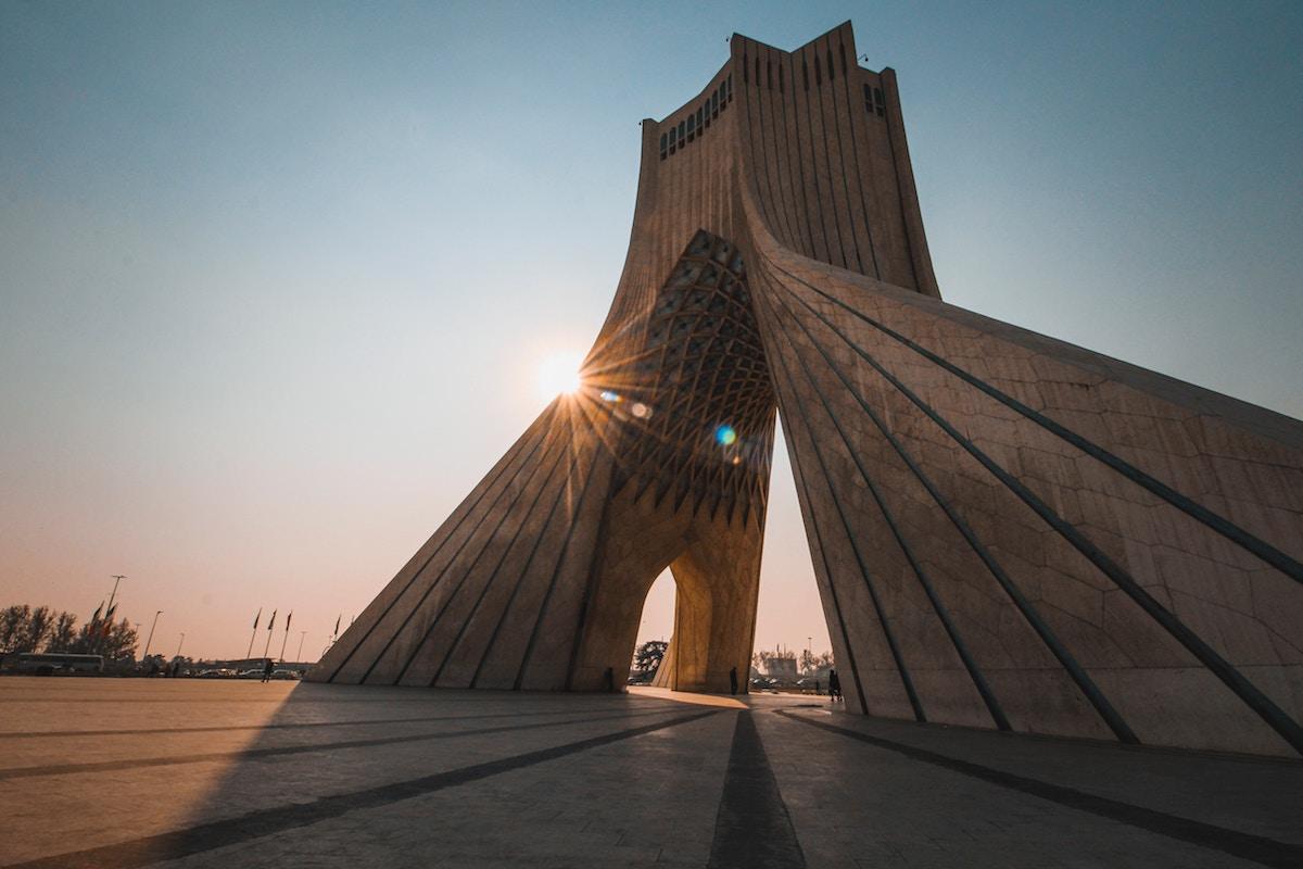 Azadi Tower, Tehran, Iran. Image credit: Alireza Heydarifard