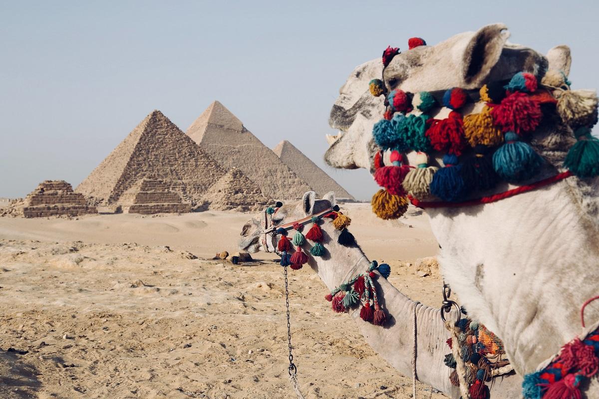 The Pyramids, Egypt. Image credit: Fynn Schmidt