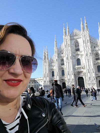 Liviana Tate in Milan