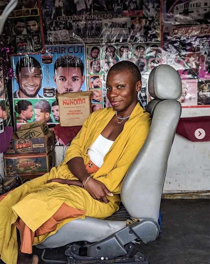Jessica Nabongo in Lilongwe, Malawi.