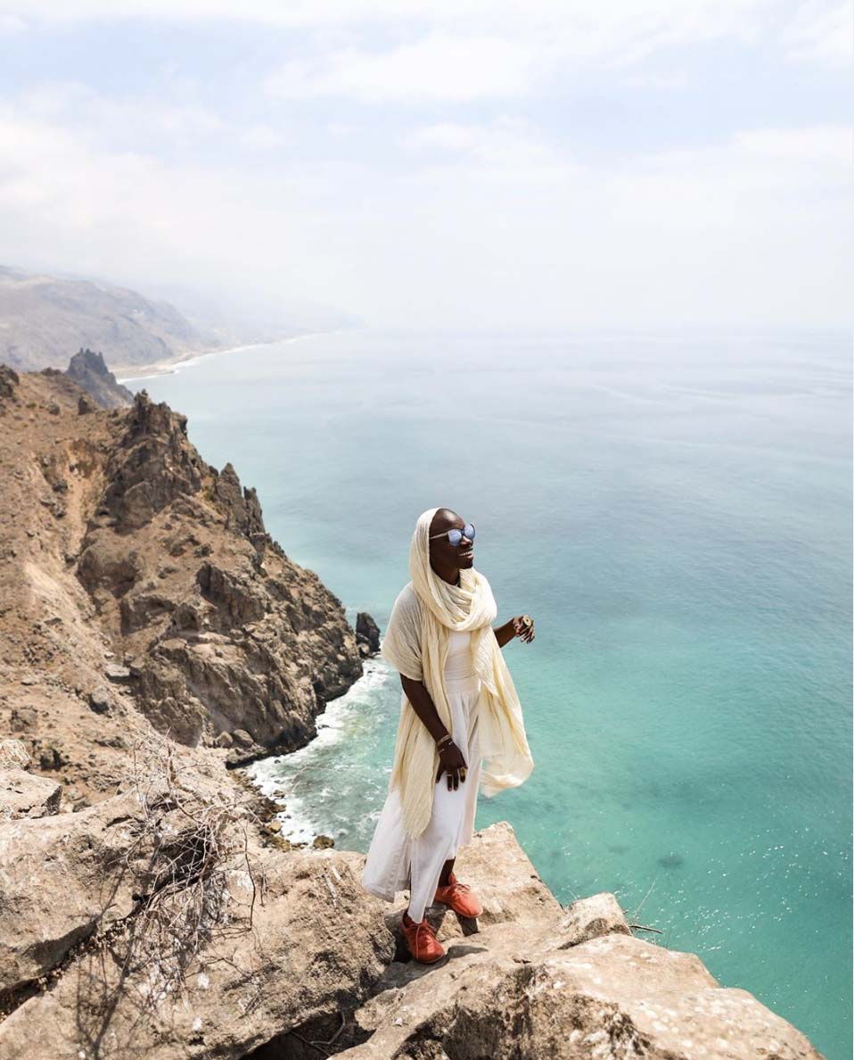 Jessica Nabongo in Yemen, April, 2019.
