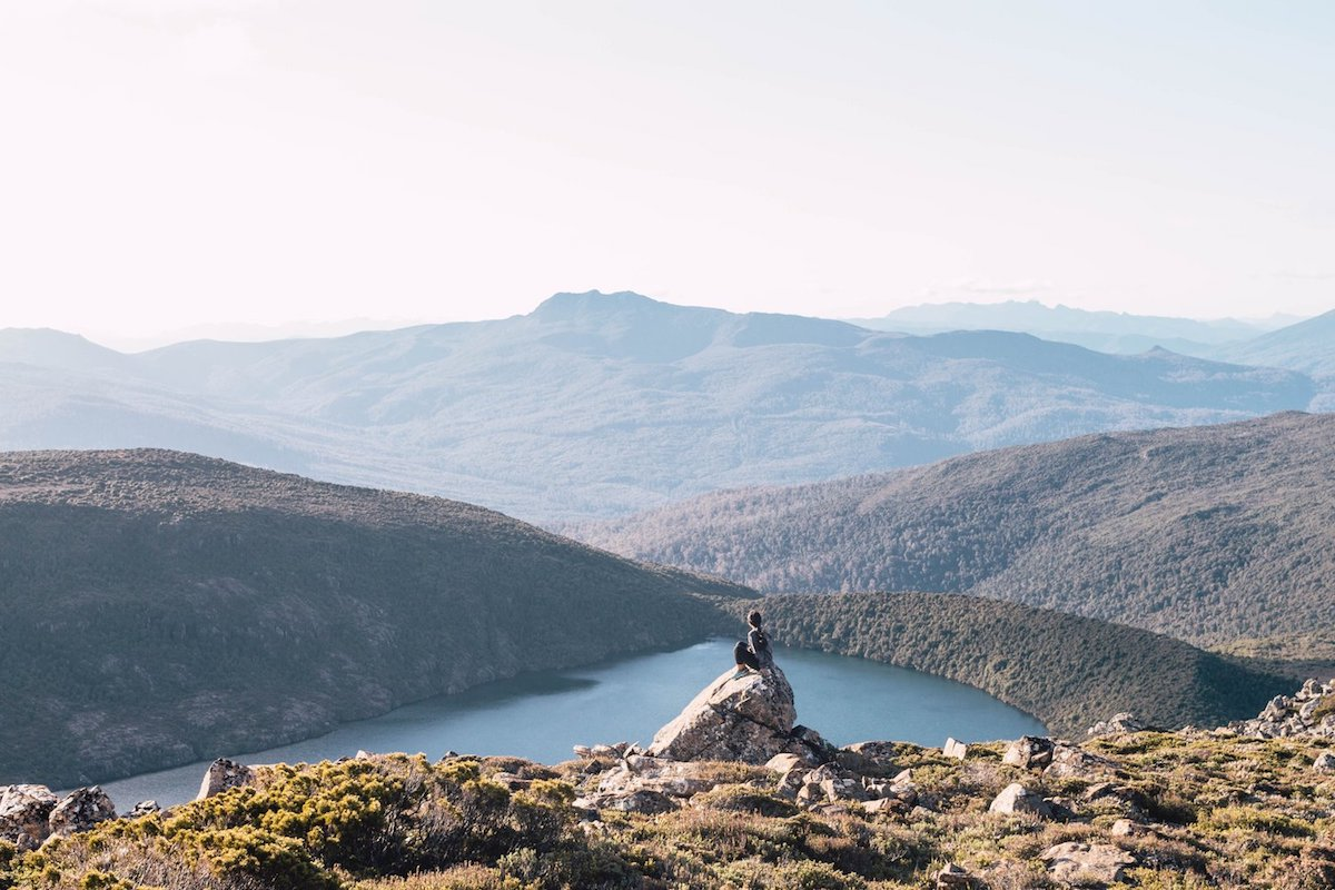Picturesque landscape of Tasmania
