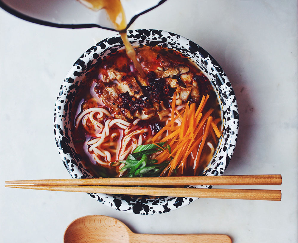 Ramen dish. Photo CRedit: Edward Guk