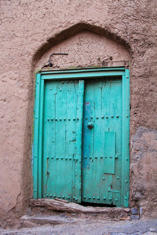 Door in an old Omani town