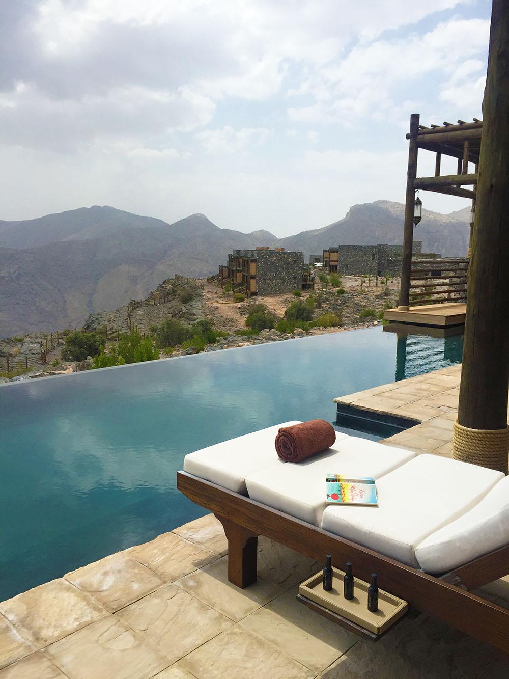 Alila Jebel Akhdar hotel, Oman. Photo Credit: Katie Silcox
