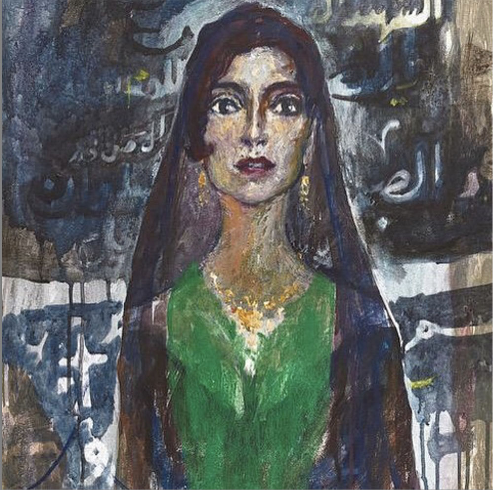 Ali Al Tajer, 'Confused'  - on display at Stal Gallery. Photo Credit:  @stalgallery