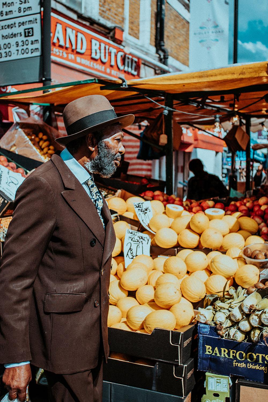 London market. Photo Credit: Brunel Johnson