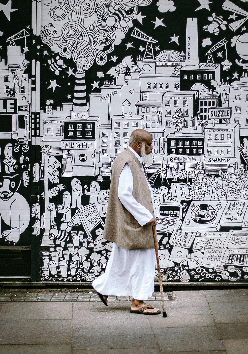 Brick Lane, London. Photo Credit: Clem Onojeghuo