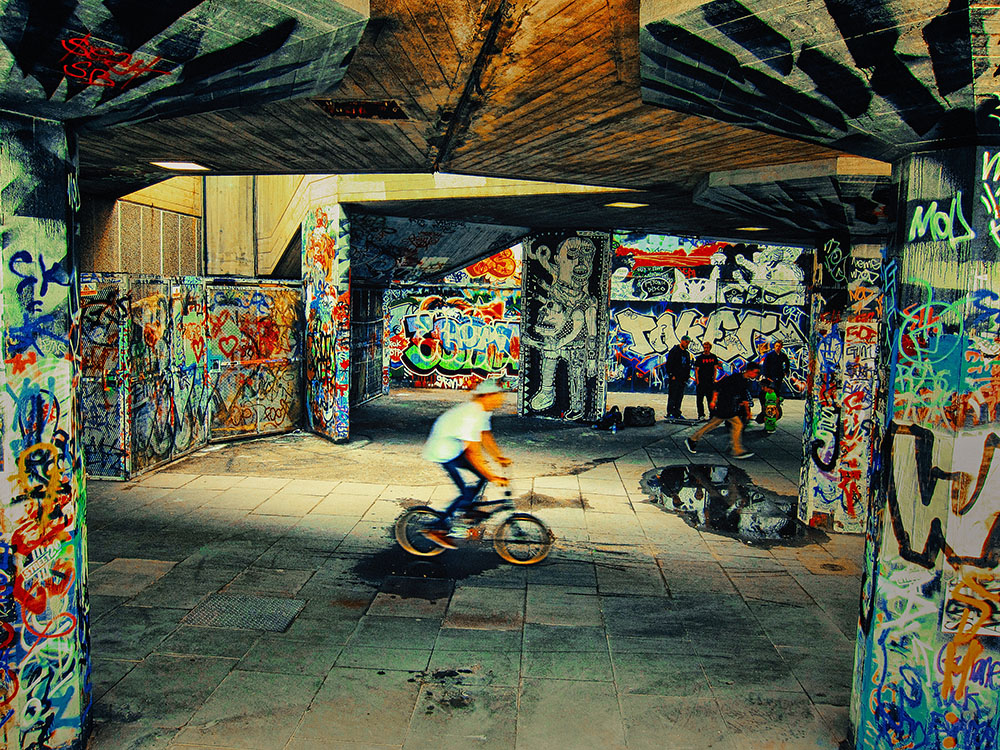 South Bank skatepark, London. Photo Credit: Rohan Reddy