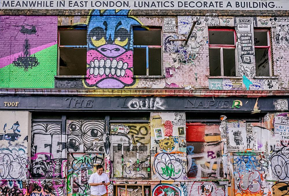 Hackney Wick, London. Photo Credit: Toa Heftiba