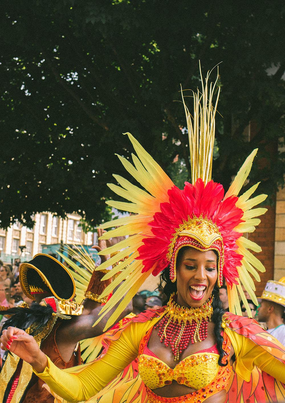 Notting Hill Carnival, London. Photo Credit: Kelly Robinson