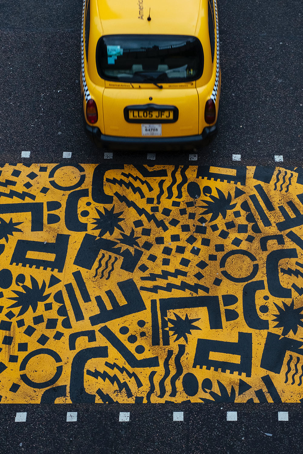 A taxi in London. Photo Credit: Lee Cartledge
