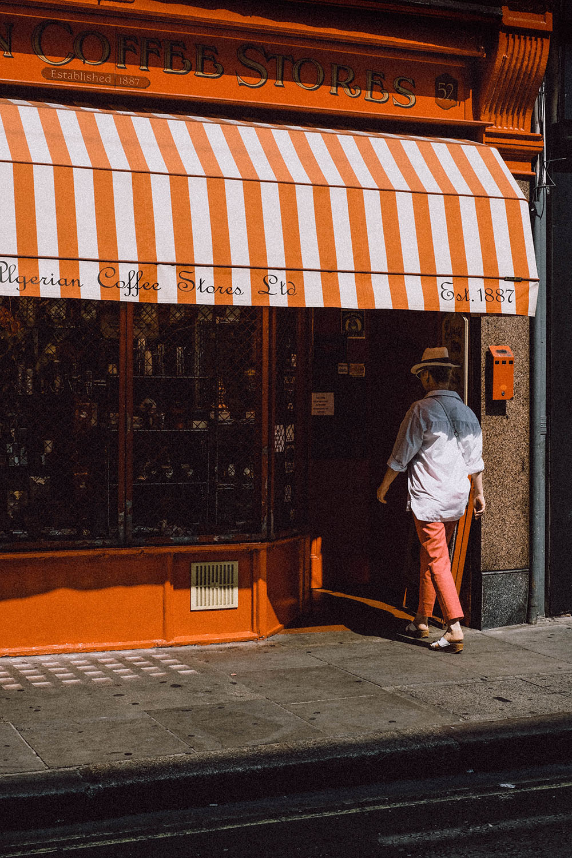 The Algerian Coffee Store, Soho, London. Photo Credit: Clem Onojeghuo