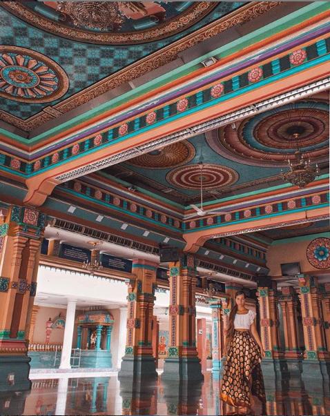 Sri Mahamariamman Temple. Image credit   @iamsilviaspigarelli