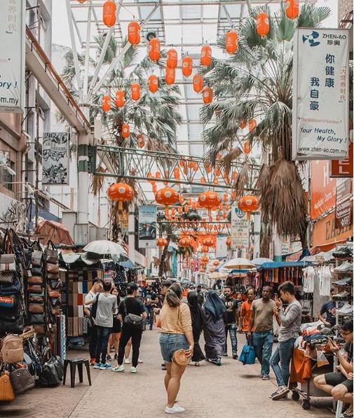 Petaling Street Market. Image credit   @thereshegoesagn