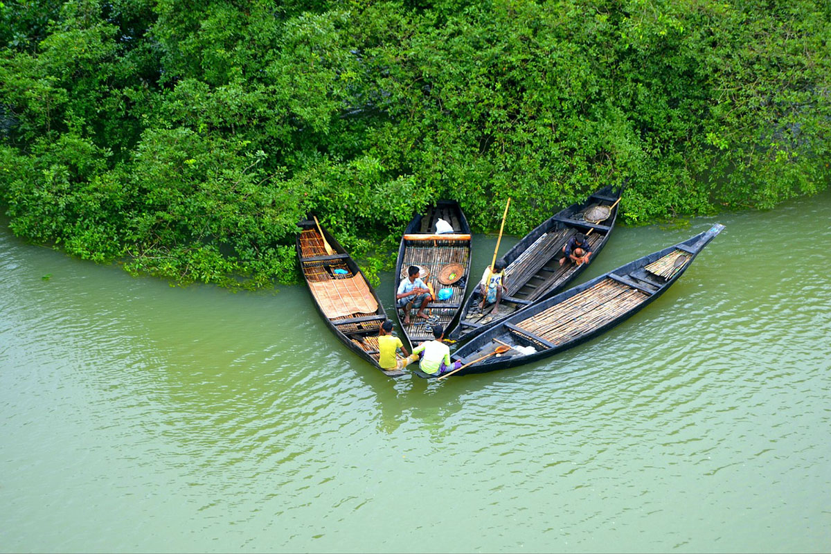 Lake in Bangladesh