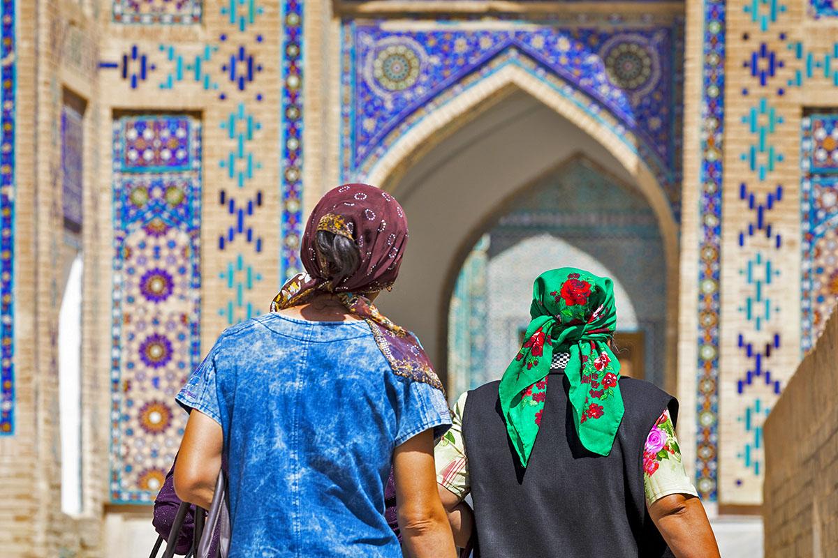 Shahi Zinda in Samarkand, Uzbekistan