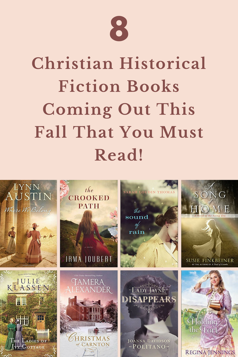Christian Historical Fiction Fall Books