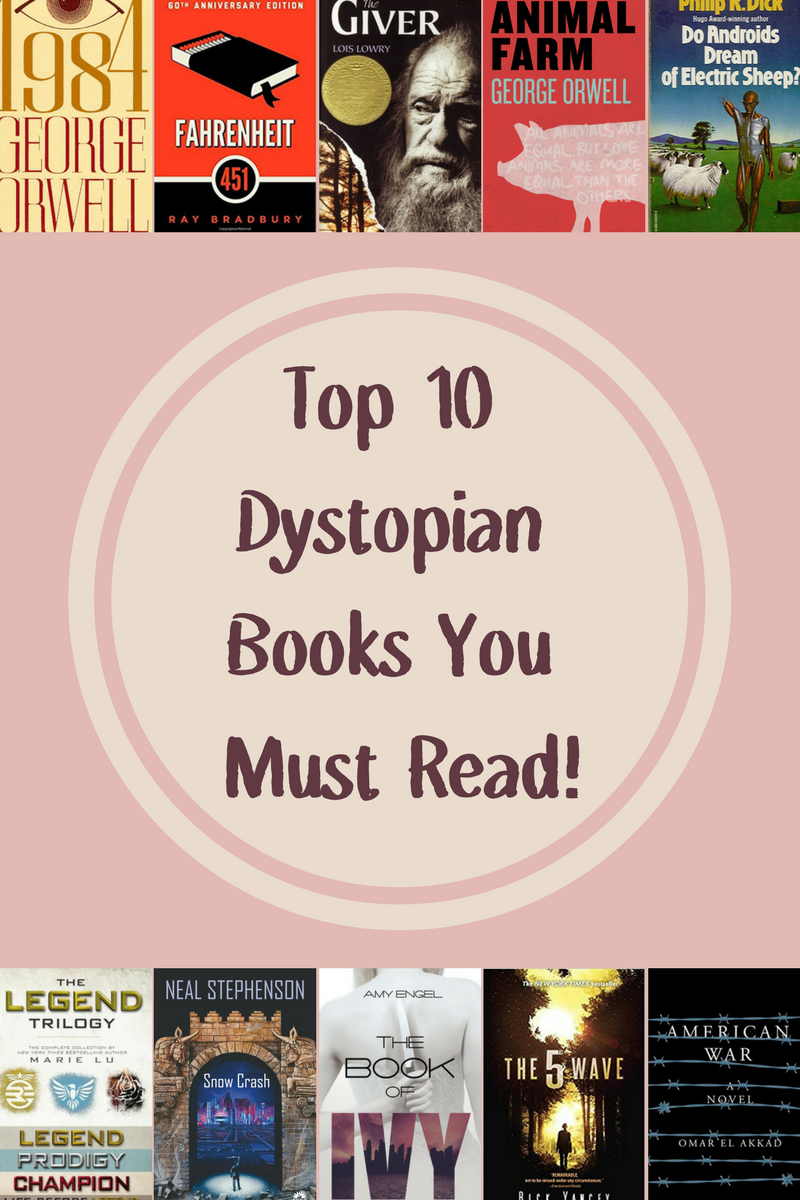 top 10 dystopian books