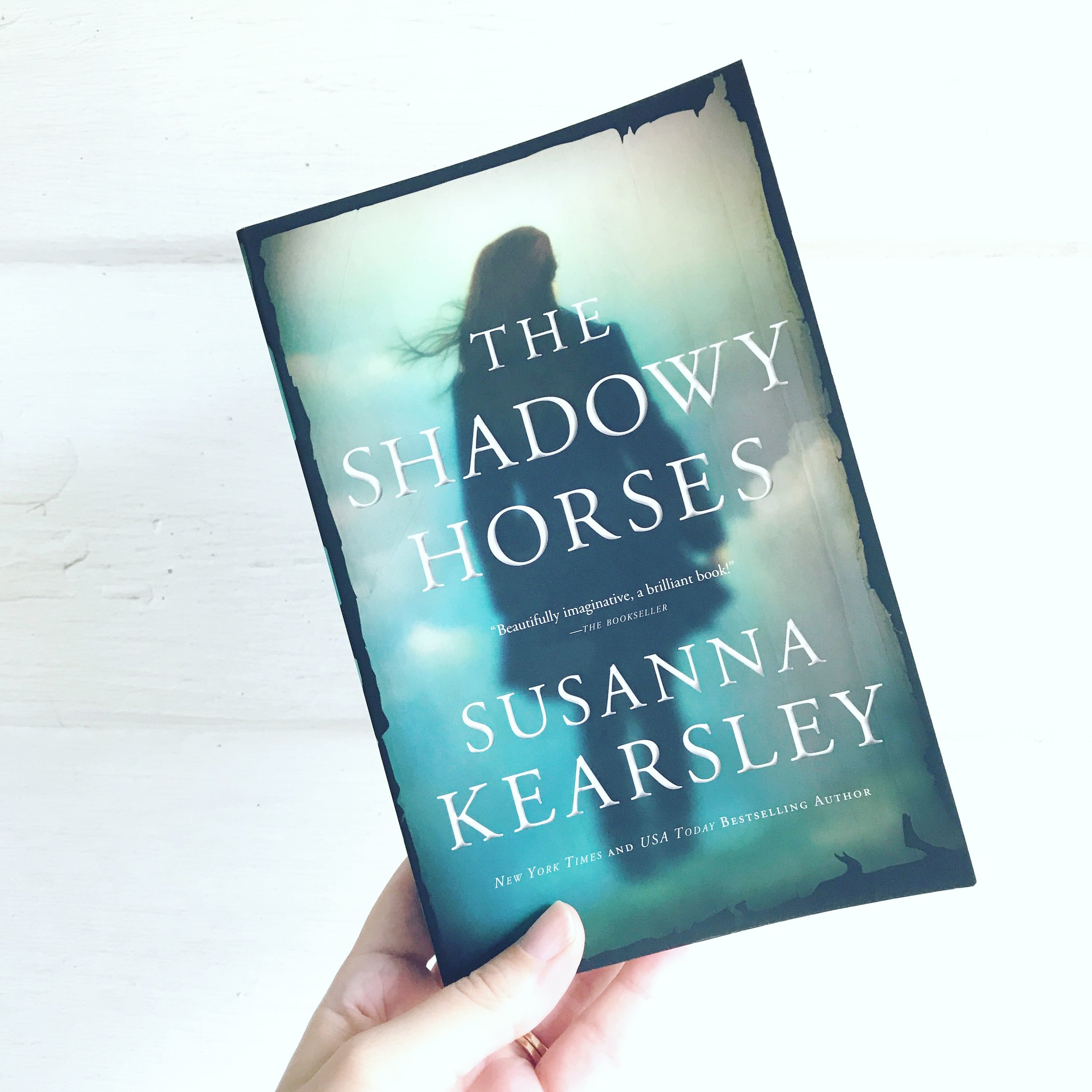 the shadowy horses book review