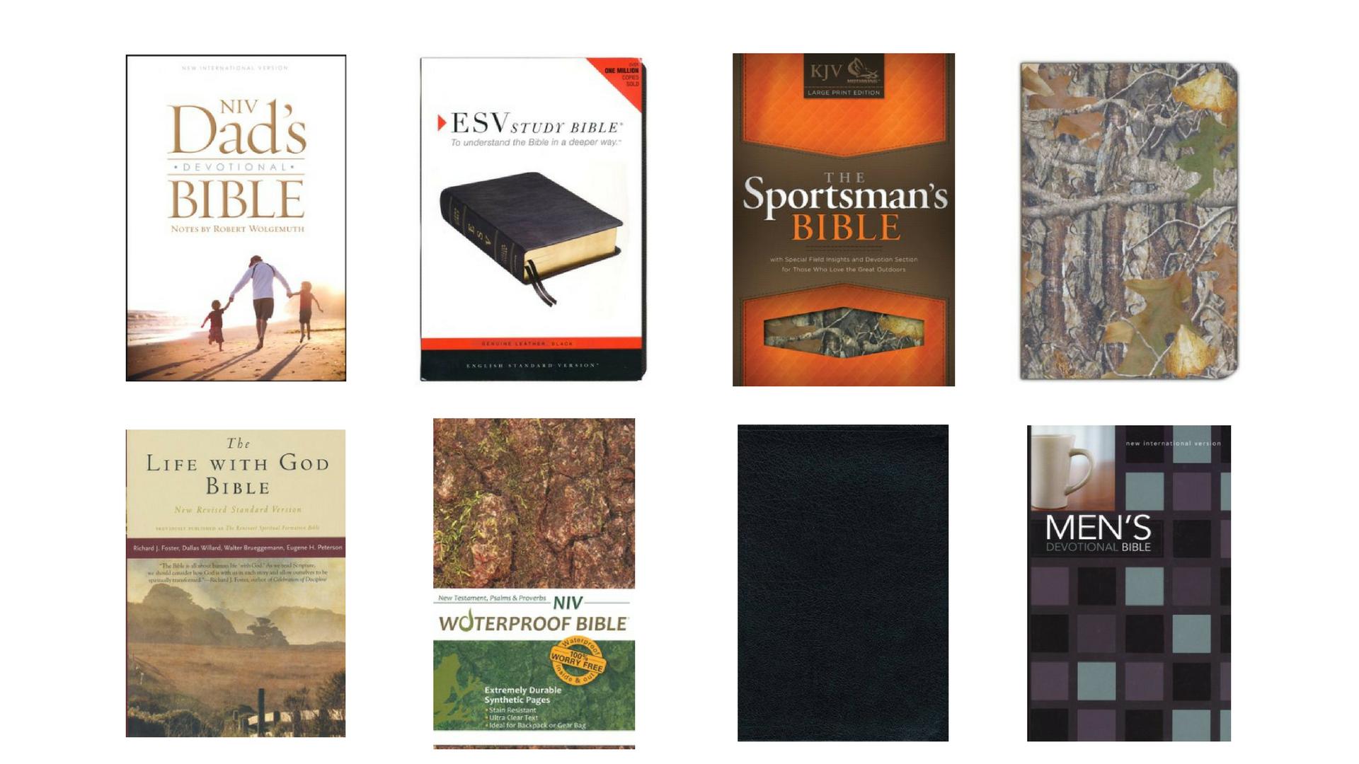 Mens bible gift guide Christmas holiday