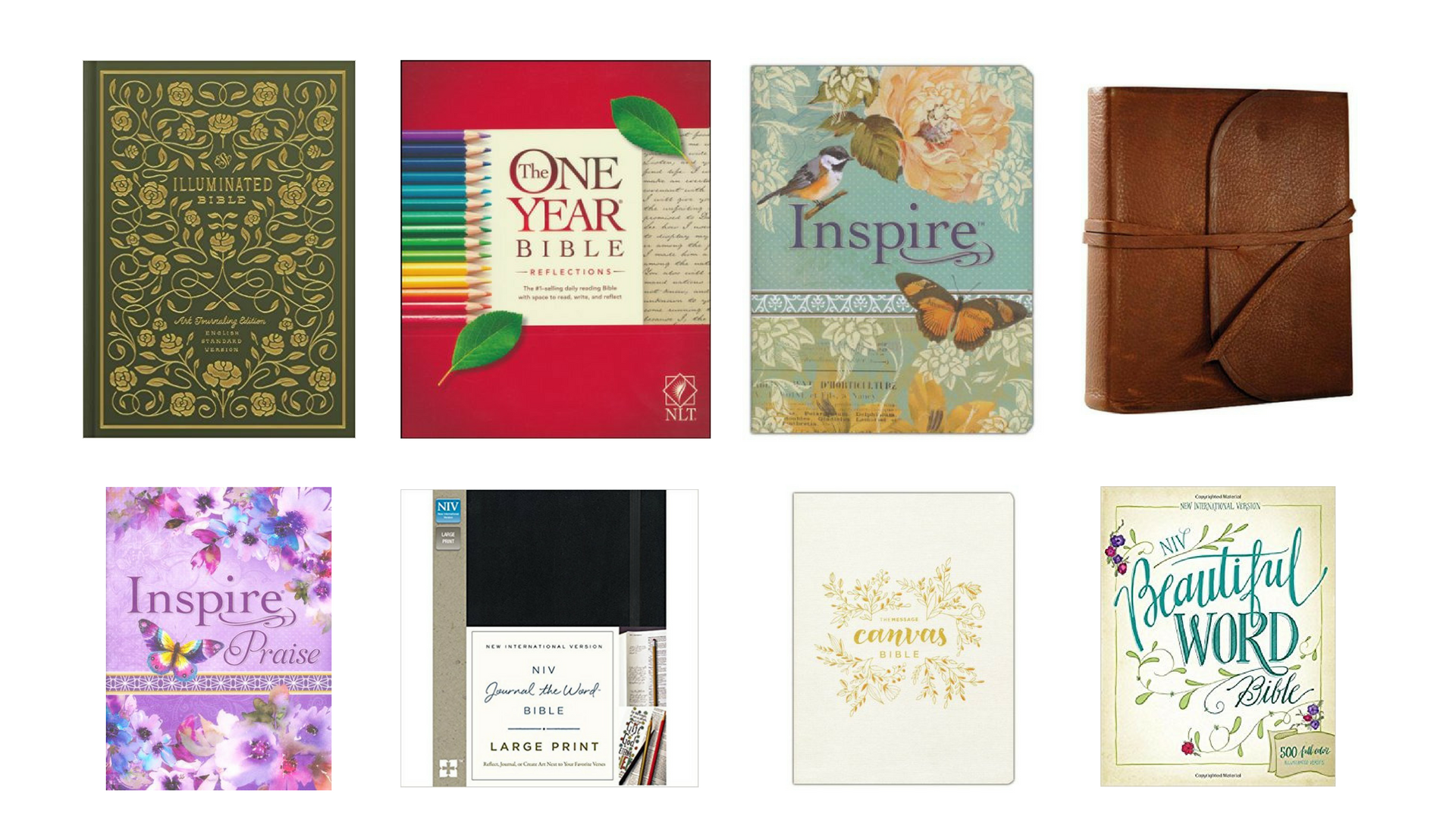 Journaling Bible Gifts Christmas holiday