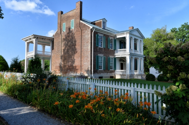 The Real Carnton in Franklin, TN. Image credit of  Battle of Franklin Trust