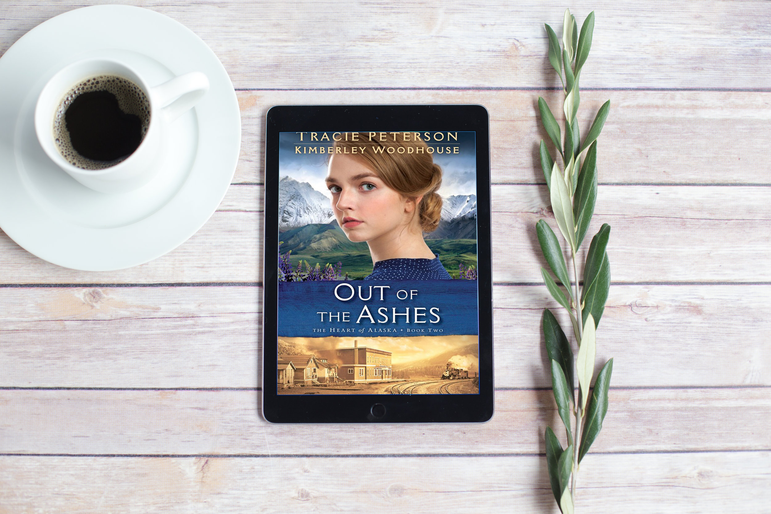 book review out of ashes tracie peterson