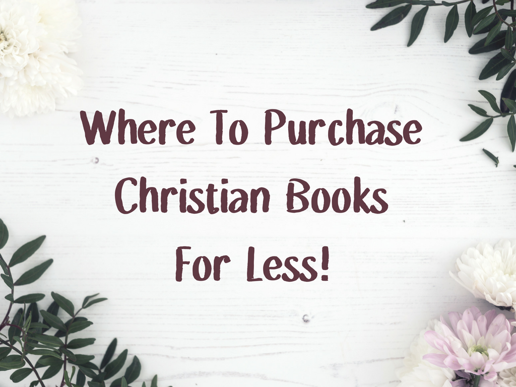 where to Purchase Christian Books For Less