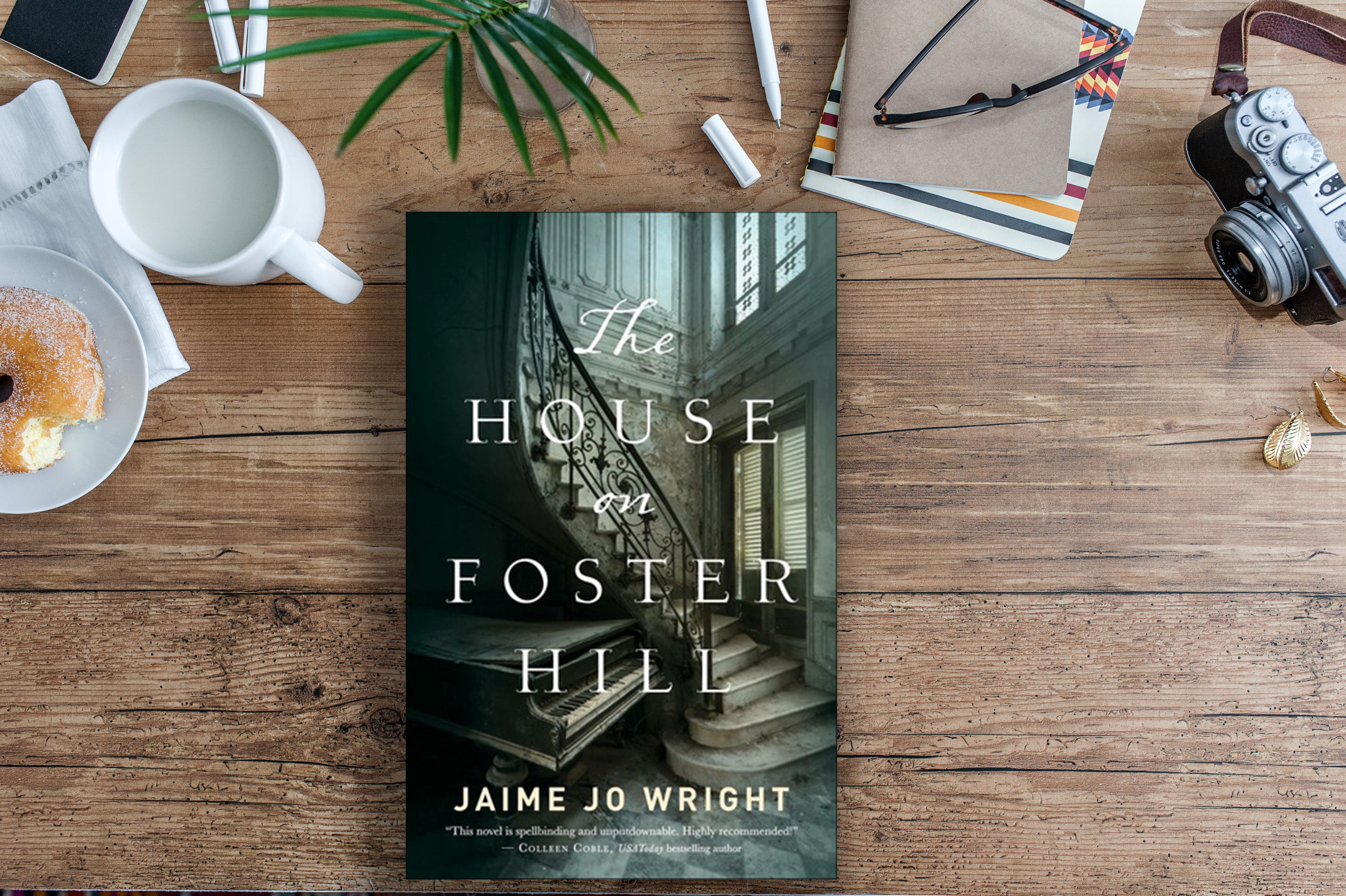the house on foster hill jaime jo wright book review