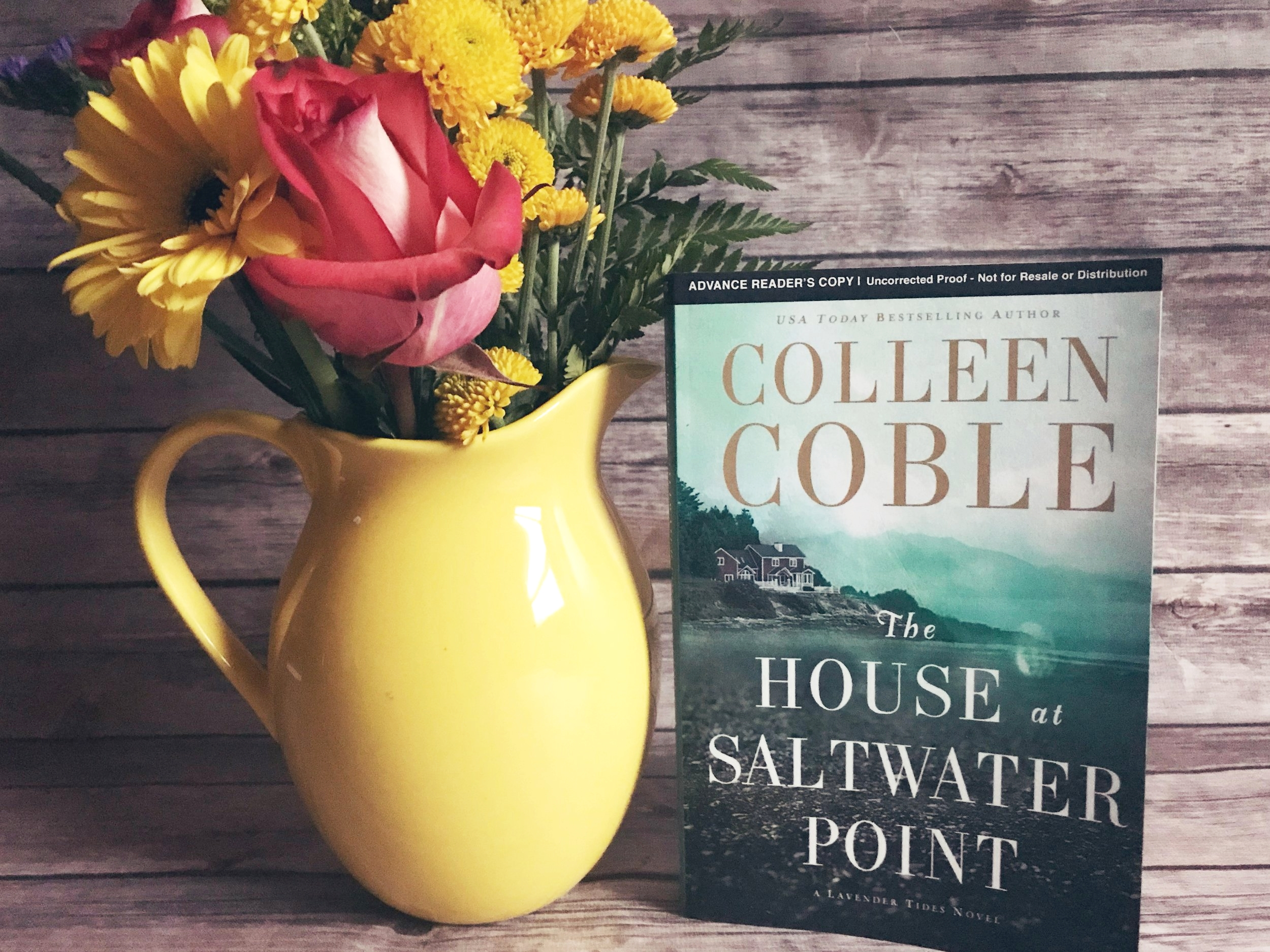 the house at saltwater point colleen coble