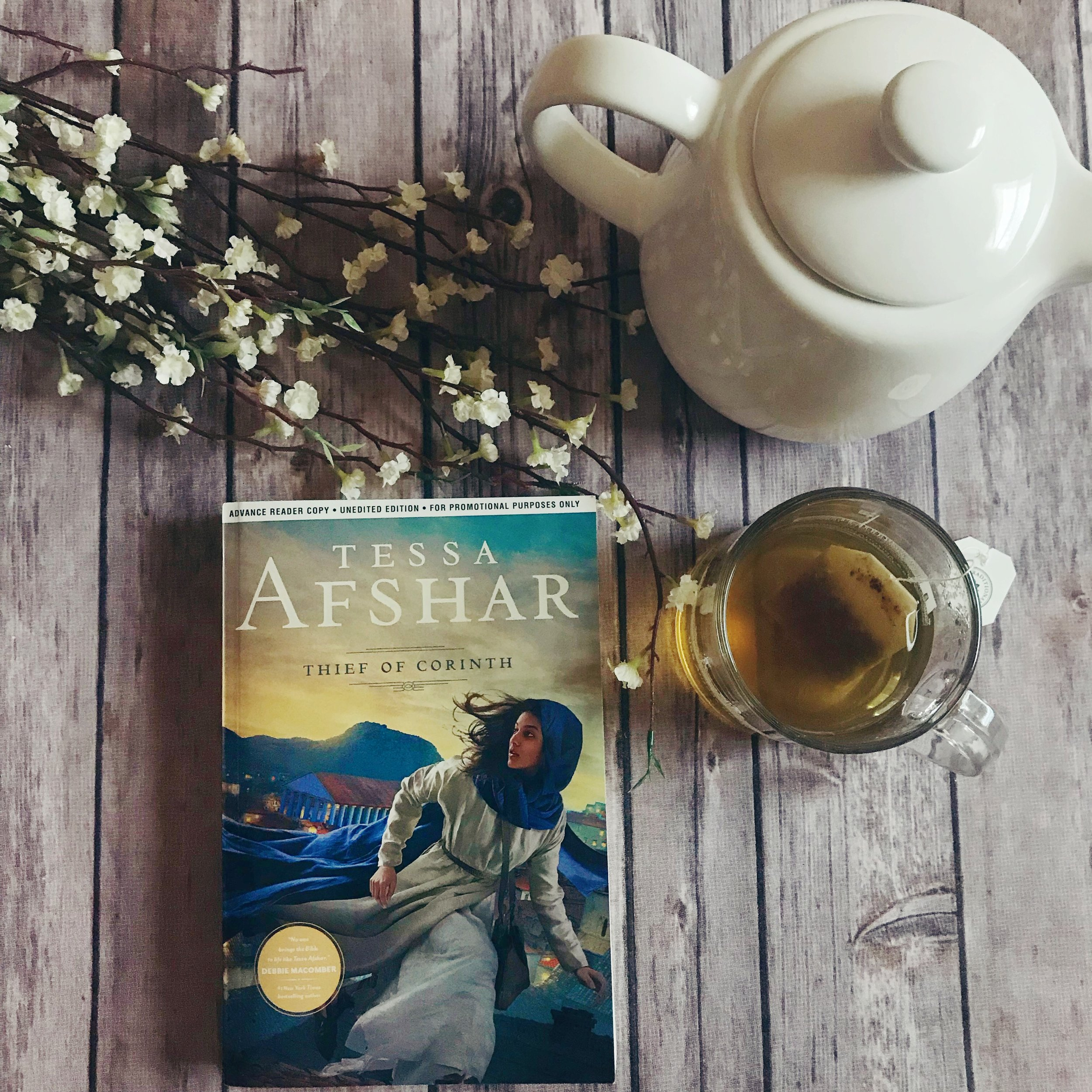 tessa afshar thief of corinth book review
