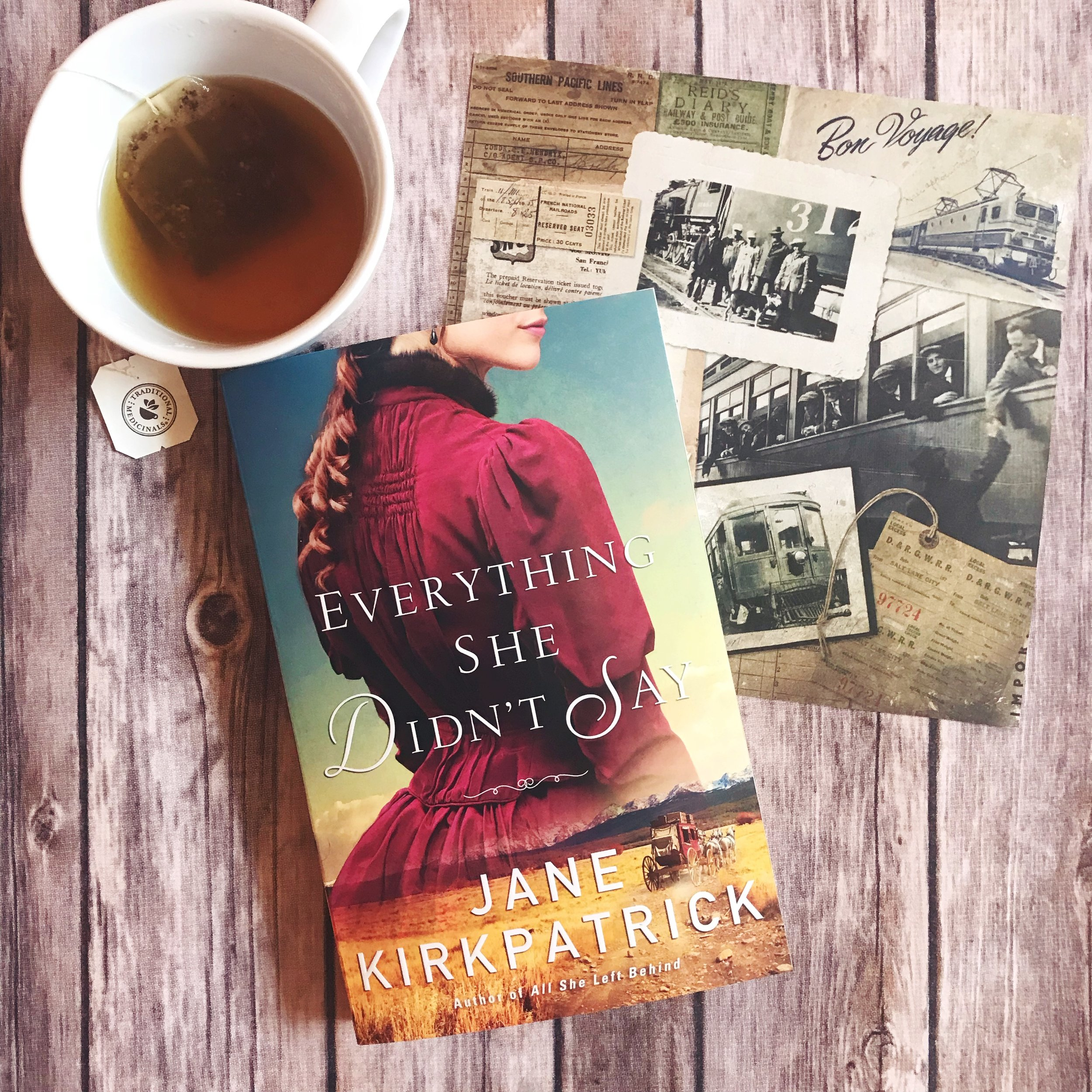 everything she didn't say jane kirkpatrick book review