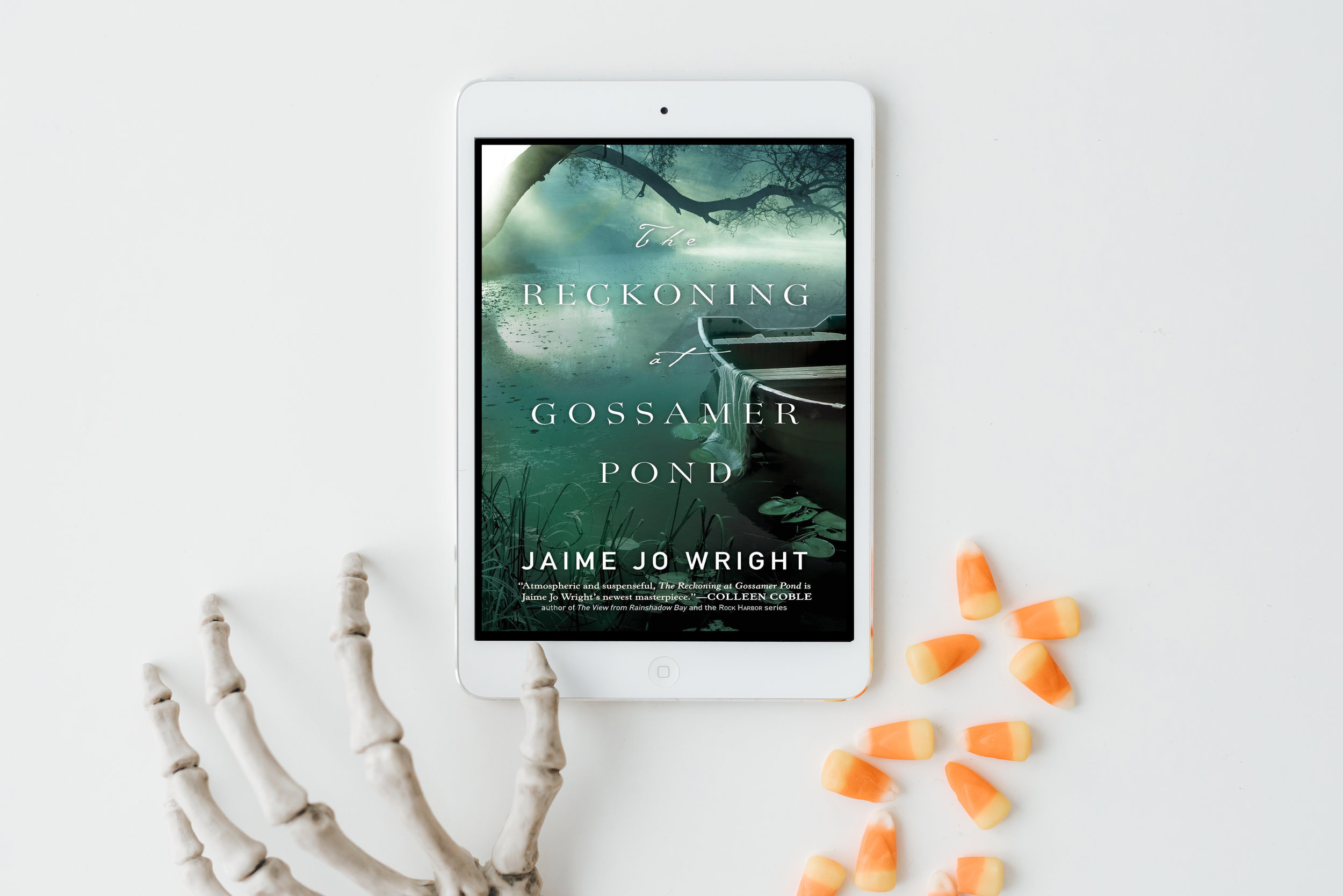 the reckoning of gossamer pond jamie jo wright book review