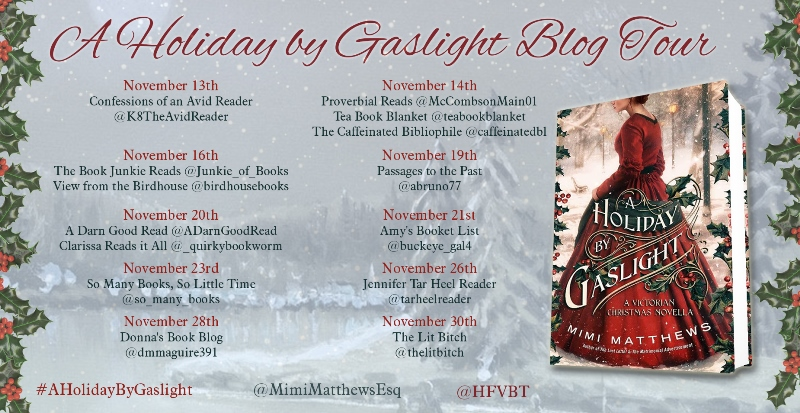 A Holiday By Gaslight Blog Tour