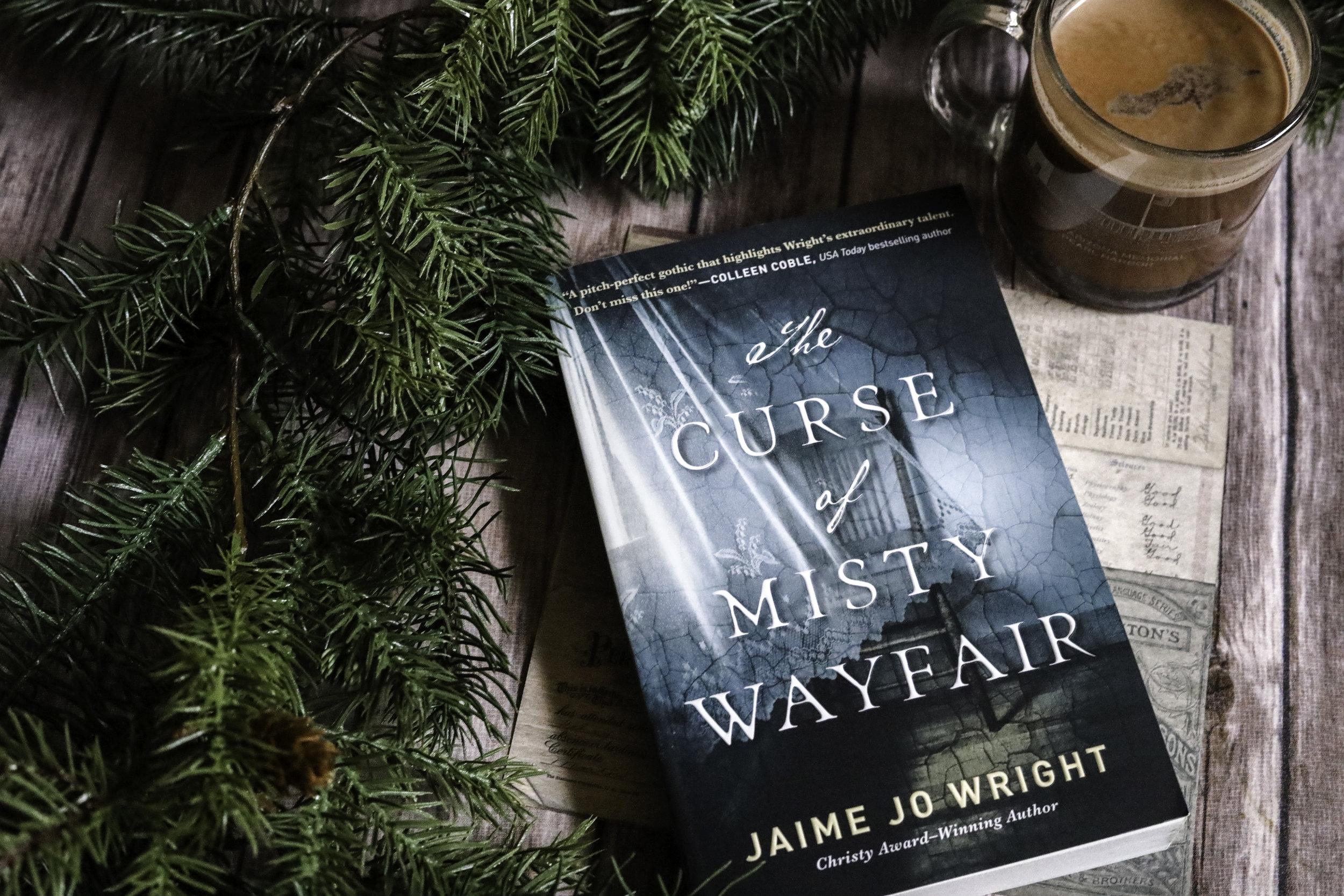 the curse of misty wayfair book review jaime jo wright