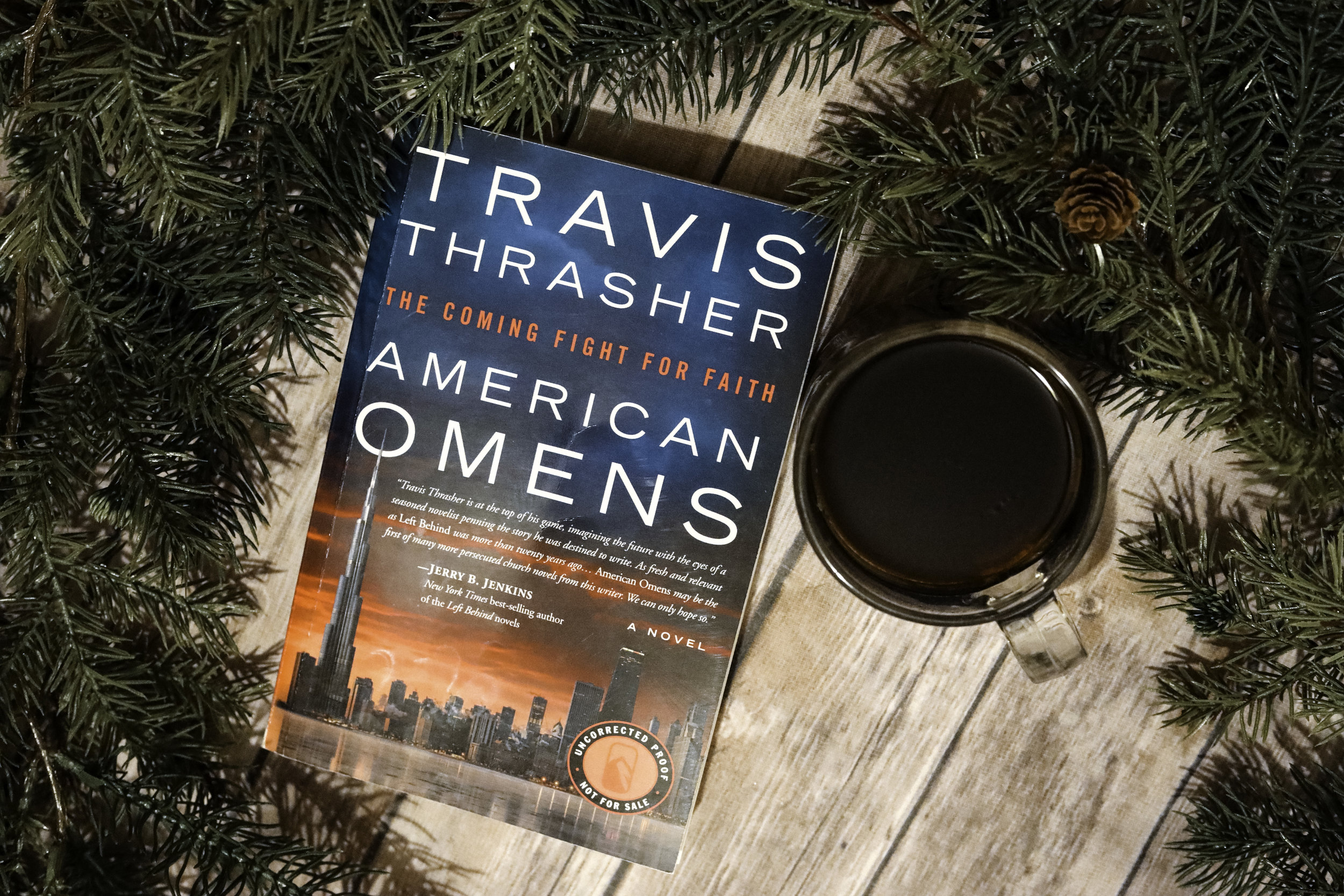 american omens by travis thrasher book review